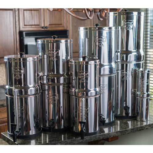 Big Berkey 174 8 5 Litres Berkey Water Filter Canada