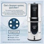 Berkey Water Filter Canada offers Imperial Berkey for use with small to medium sized groups, at home, churches, hospitals, orphanages, outdoor activities or during unexpected emergencies