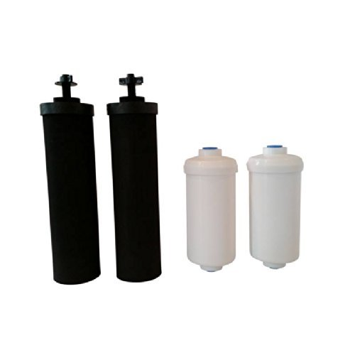 Black Berkey& Pf2 fluoride filter combo 6