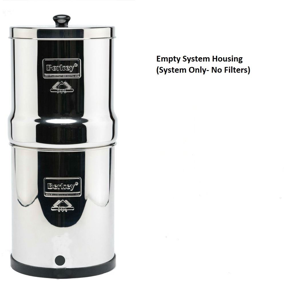 Empty System Housing System Only No Filters Berkey